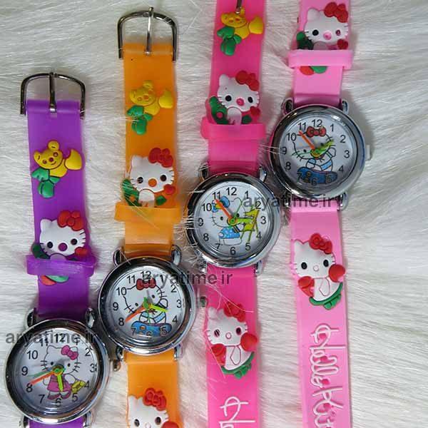 ساعت عروسکی بچگانه بدلیجات خرید فروش قیمت عمده ساعت مچی بچگانه عمده