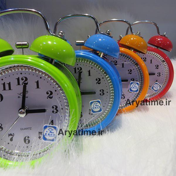 ساعت رومیزی زنگ دار فانتزی عمده پخش فروش خرید قیمت