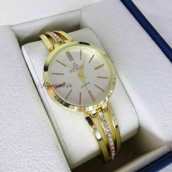 مدل ساعت مچی زنانه بند استیل نگین دار قیمت ساعت مچی زنانه خرید