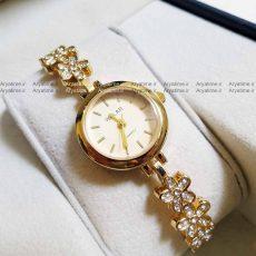 ساعت مچی زنانه استیل نگین دار ارزان قیمت ساعت مچی بند استیل زنانه
