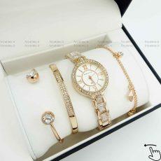 ساعت و دستبند زنانه ست